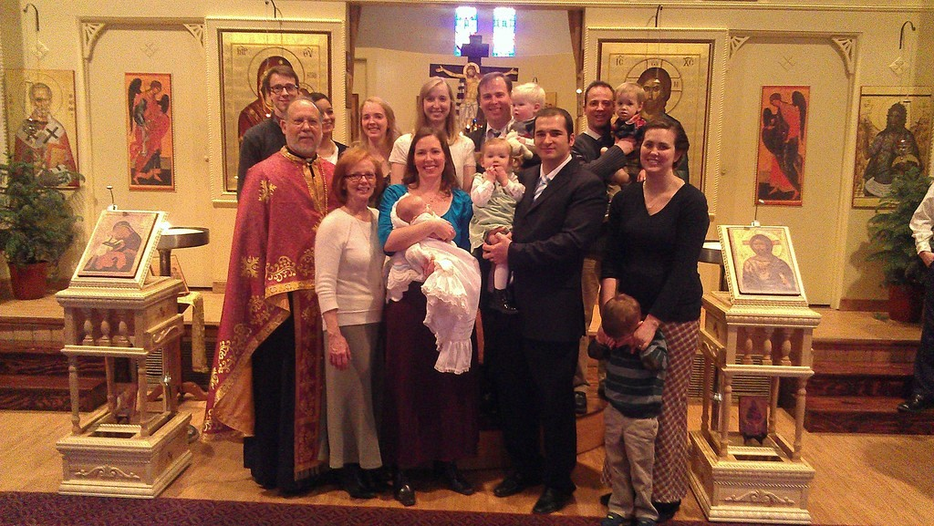 Fr Paul & Presbytera's Family Now. Five kids, 80% married, and five grandchildren and three more in the oven.