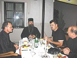 Fr Louis Christopoulos, Bp Teodosije, Nenad, Fr Paul