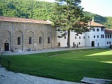 The grounds of Visoki Decani Monastery