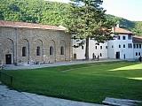 The grounds of Visoki Decani Monastery