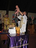 Aidric is baptized ...