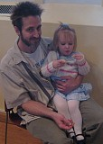Daddy and Danae (Happy Birthday, Danae!)