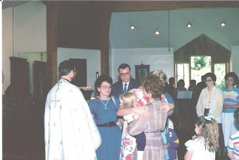 Ken's Mom and Dad were there, and one of his two sisters. All were deeply moved by the beauty and significance of the ordination service.