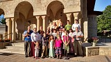 Pilgrims to Holy Dormition 2015