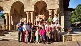 Pilgrims to Holy Dormition 2015