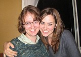 Never were there such devoted sisters - Emily and Rachel